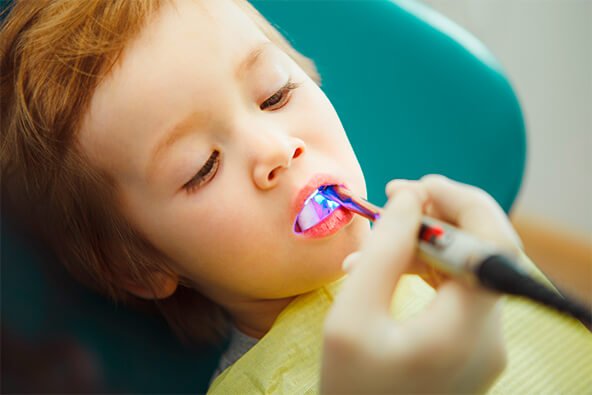 The Smile Workx - Dental Services - Preventive Children Dentistry Little Boy Dental Checkup